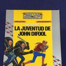 Tebeos: LA JUVENTUD DE JOHN DIFOOL HUMANOIDES ASSOCIES ANTES DEL INCAL METAL HURLANT 1990 29X23CMS. Lote 142979854
