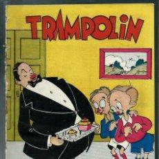 Tebeos: TRAMPOLIN Nº 4 - ACCION CATOLICA 1951 - CON ENRICH, IRZANZO, SABATES, BENI, ESCUDERO ETC.,. Lote 143042338