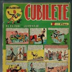 Tebeos: CUBILETE Nº 7 - GONG 1949 - CON FIGUERAS, SANCHIS,, PERIS, CARBO, MASSET - PROCEDE DE ENCUADERNACION. Lote 143043658