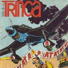 Tebeos: TRINCA - Nº 6- CALATAYUD-JAN-ALBA-ANTONIO H.PALACIOS-CHIQUI-BERNET TOLEDANO-1971-MUY DIFÍCIL-9800. Lote 143053502