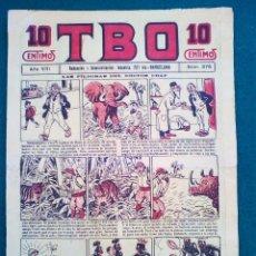 Tebeos: T B O Nº 376 - AÑO VIII. Lote 143092914