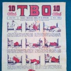 Tebeos: T B O - Nº 382 - AÑO VIII. Lote 143093466
