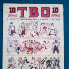 Tebeos: T B O - Nº 396 - AÑO VIII. Lote 143094370