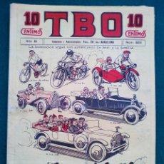 Tebeos: T B O - Nº 502 - AÑO XI. Lote 143096794