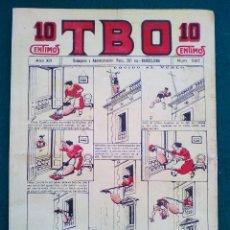 Tebeos: T B O - Nº 597 - AÑO XII. Lote 143098046