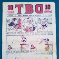 Tebeos: T B O - Nº 389 - AÑO VIII - SIN CORTAR. Lote 143098438