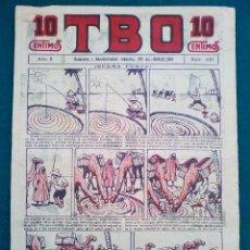Tebeos: T B O - Nº 491 - AÑO X - SIN CORTAR. Lote 143098766