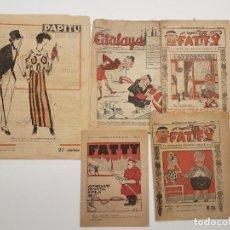 Tebeos: LOTE TBO CÓMICS PAPITU, ATALAYA, FATTY, (INFANTIL), ILUSTRADO 1919. Lote 143183598