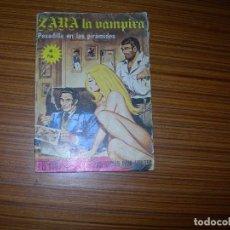 Tebeos: ZARA LA VAMPIRA Nº 21 EDITA ELVIBERIA . Lote 143596174