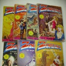Tebeos: ZORDON, LOTE CON LOS Nº 3 4 5 6 8 9 Y 10, ED. MERCOCOMIC, AÑO 1977, OFERTA!!. Lote 143759546