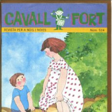 Tebeos: CAVALL FORT - Nº 524. Lote 144712078