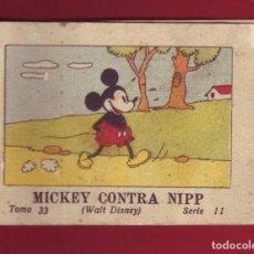 Tebeos: MICKEY CONTRA NIPP, CALLEJA 1936, WALT DISNEY - TOMO 33 SERIE II. Lote 144715858