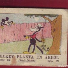 Tebeos: MICKEY PLANTA UN ARBOL, CALLEJA 1942, WALT DISNEY - TOMO 60 SERIE III. Lote 144716034