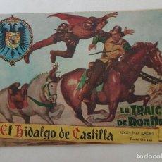 Tebeos: EL HIDALGO DE CASTILLA. Nº 1. ROLLÁN 1959.. Lote 145287678