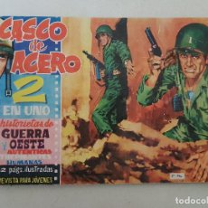 Tebeos: CASCO DE ACERO. Nº 37. EDICIONES MANHATTAN. Lote 145288062