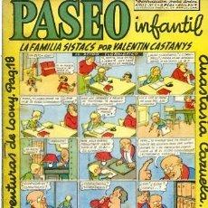 BDs: COMIC ORIGINAL PASEO INFANTIL Nº 6 EDICIONES GENERALES. Lote 145608882