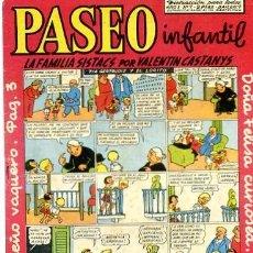 BDs: COMIC ORIGINAL PASEO INFANTIL Nº 7 EDICIONES GENERALES. Lote 145608914