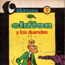 Tebeos: VIDORAMA Nº 12 - CLIFTON Y LOS DUENDES (JAIMES, 1970). Lote 145759514