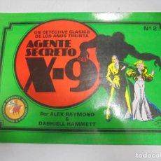 Tebeos: TEBEO. AGENTE SECRETO X-9. DETECTIVE CLASICO DE LOS AÑOS TREINTA. Nº 2. Lote 146190594