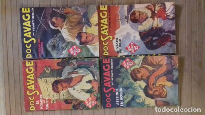 DOC SAVAGE. COLECCION HOMBRES AUDACES. NUMEROS 1,2,3Y 4. 1936 (Tebeos y Comics - Tebeos Clásicos (Hasta 1.939))