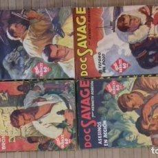Tebeos: DOC SAVAGE. COLECCION HOMBRES AUDACES. NUMEROS 1,2,3Y 4. 1936. Lote 146448894