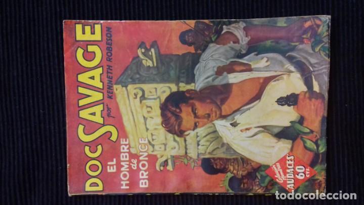 Tebeos: DOC SAVAGE. COLECCION HOMBRES AUDACES. NUMEROS 1,2,3Y 4. 1936 - Foto 3 - 146448894