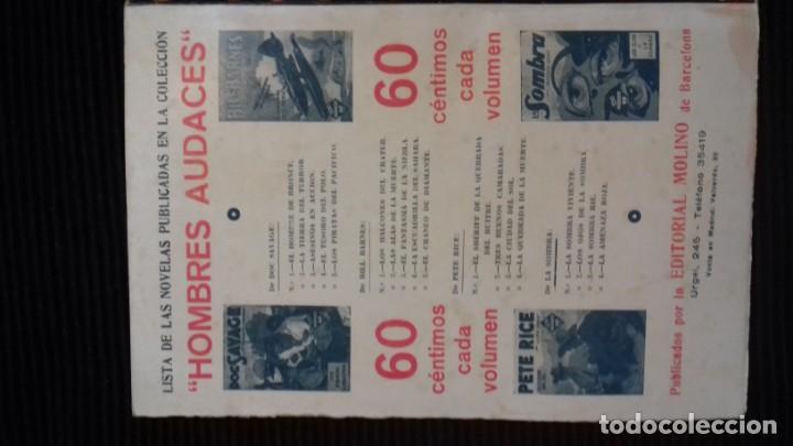 Tebeos: DOC SAVAGE. COLECCION HOMBRES AUDACES. NUMEROS 1,2,3Y 4. 1936 - Foto 4 - 146448894
