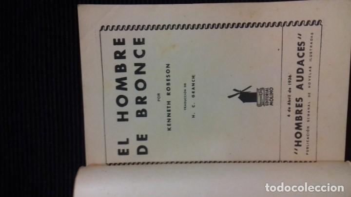 Tebeos: DOC SAVAGE. COLECCION HOMBRES AUDACES. NUMEROS 1,2,3Y 4. 1936 - Foto 5 - 146448894
