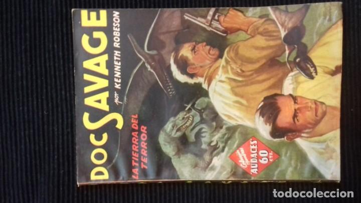 Tebeos: DOC SAVAGE. COLECCION HOMBRES AUDACES. NUMEROS 1,2,3Y 4. 1936 - Foto 6 - 146448894