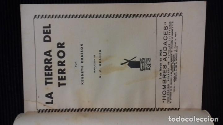 Tebeos: DOC SAVAGE. COLECCION HOMBRES AUDACES. NUMEROS 1,2,3Y 4. 1936 - Foto 8 - 146448894
