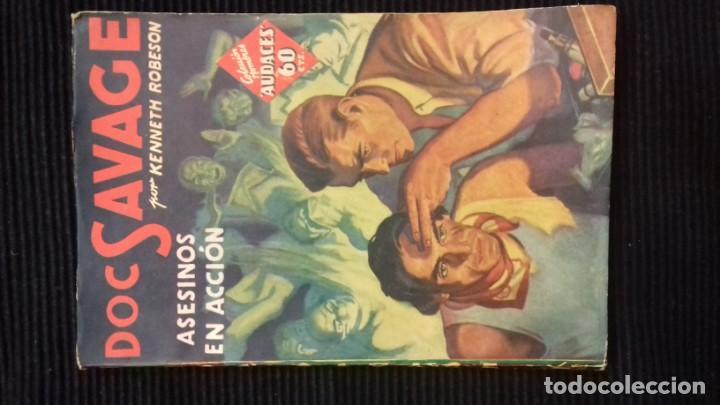 Tebeos: DOC SAVAGE. COLECCION HOMBRES AUDACES. NUMEROS 1,2,3Y 4. 1936 - Foto 9 - 146448894