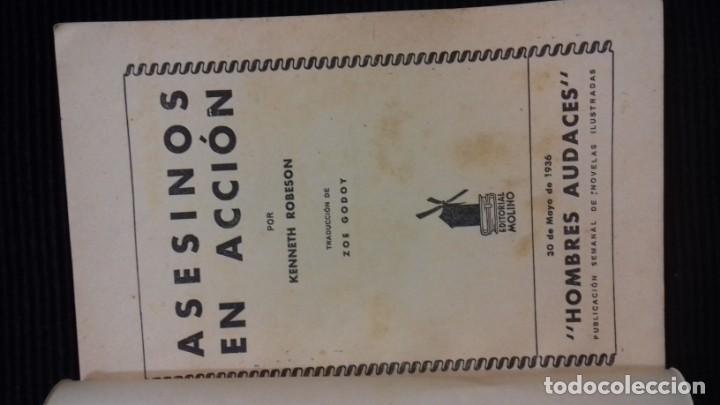Tebeos: DOC SAVAGE. COLECCION HOMBRES AUDACES. NUMEROS 1,2,3Y 4. 1936 - Foto 11 - 146448894
