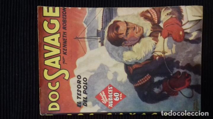 Tebeos: DOC SAVAGE. COLECCION HOMBRES AUDACES. NUMEROS 1,2,3Y 4. 1936 - Foto 12 - 146448894