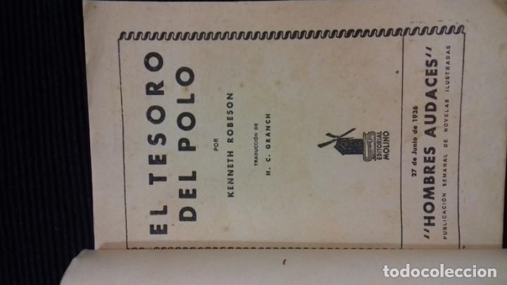 Tebeos: DOC SAVAGE. COLECCION HOMBRES AUDACES. NUMEROS 1,2,3Y 4. 1936 - Foto 14 - 146448894