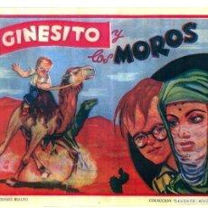 Livros de Banda Desenhada: GINESITO Y LOS MOROS DE EDICIONES RIALTO COLECCION DIAMANTE AMARILLO FACSIMIL. Lote 146496874