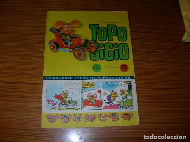 TOPO GIGIO Nº 11 EDITA SEMIC (Tebeos y Comics - Tebeos Otras Editoriales Clásicas)