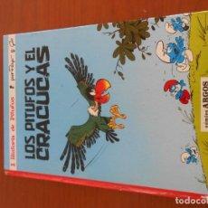 Tebeos: 1 HISTORIA DE PITUFOS LOS PITUFOS Y EL CRACUCAS ARGOS 1971 PEYO. Lote 146945066