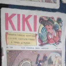 Tebeos: KIKI TEBEO Nº24 EDITORIAL GATO NEGRO. J. BRUGUERA. Lote 147007882