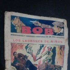 Tebeos: BOB INTERESANTES Y HEROICAS AVENTURAS DE UN NIÑO DETECTIVE, Nº 2. Lote 147009578