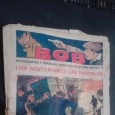 Tebeos: BOB INTERESANTES Y HEROICAS AVENTURAS DE UN NIÑO DETECTIVE, Nº 3. Lote 147009742
