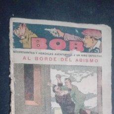 Tebeos: BOB INTERESANTES Y HEROICAS AVENTURAS DE UN NIÑO DETECTIVE, Nº 14. Lote 147011714
