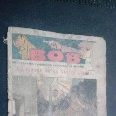 Tebeos: BOB INTERESANTES Y HEROICAS AVENTURAS DE UN NIÑO DETECTIVE, Nº 13. Lote 147012030