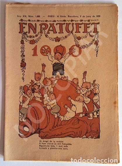 CUENTOS EN PATUFET. NÚMERO 1000. (Tebeos y Comics - Tebeos Clásicos (Hasta 1.939))