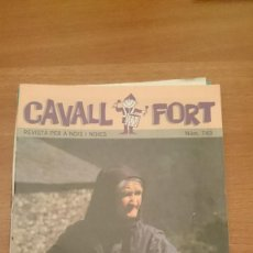 Tebeos: REVISTA CAVALL FORT Nº 743. Lote 147300386