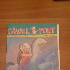 Tebeos: REVISTA CAVALL FORT Nº 737--738-. Lote 147300938
