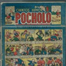 Tebeos: EDICIONES POCHOLO Nº 67 - EL CHIMPANCE SABIO - ORIGINAL, 1945 - CORRECTO. Lote 147759302