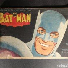 Tebeos: BATMAN EXTRAORDINARIO 1959 Nº 2 , SUPERMAN ROBIN OTROS MUCHNIK AVENTURAS COMPLETAS 82 PAG. Lote 148007594