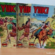 Tebeos: LOTE DE 3 EJEMPLARES DE YUKI EL TEMERARIO. Lote 148030390