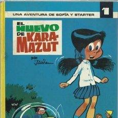Tebeos: EL HUEVO DE KARA-MAZUT, 1971, ARGOS, BUEN ESTADO. Lote 148087938