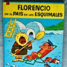 Tebeos: FLORENCIO EN EL PAÍS DE LOS ESQUIMALES Nº 3 COLECCIÓN EPITOM DE JAIMES GOSCINNY Y BERCK 1966. Lote 148117474